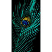 Peacock Blue Hand Towels 16ct