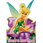 Tinker Bell and The Fairies Invitations 8ct