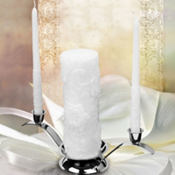 Floral Candle Set 3ct