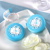 Blue Safari Baby Shower Measuring Tape