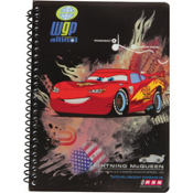 Cars 2 Soft Covered Notebook 5in x 7in