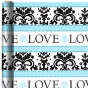 Always & Forever Wedding Gift Wrap 5ft