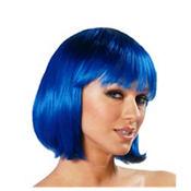 Charm Blue Premium Wig