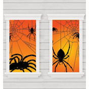 Spider Window Silhouettes 65in x 33 1/2in 2ct
