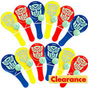 Transformers 3 Paddle Balls Favors 12ct