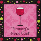 Mommy's Sippy Cup Magnet