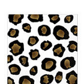 Leopard Lunch Napkins 16ct