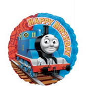 Happy Birthday Thomas the Tank Engine Balloon