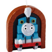 Thomas the Tank Engine Birthday Candle 3in