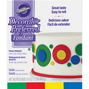 Wilton Multicolor Rolled Fondant