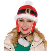 Santa Belt Flap Hat