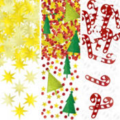 Traditional Christmas Confetti Value Pack 1.2oz