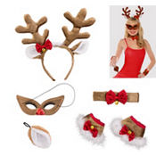 Adult Vixen Reindeer Costume Kit 5pc