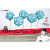 Duff Snowflake Cake Pop Kit 20pc
