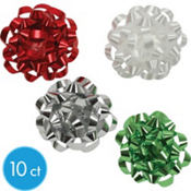 Cool Yule Mini Bows 2in x 2in x 1in 10ct