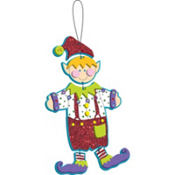 Elf Dangle Doll Activity Kit 5ct
