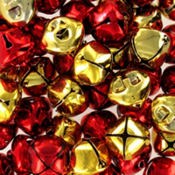 Red and Gold Jingle Bells 60ct