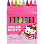 Hello Kitty Crayons 8ct