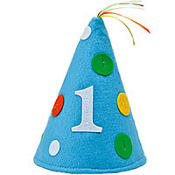 Sweet At One Boys 1st Birthday Felt Hat