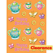 Tea For You Stickers 4ct