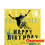 Xtreme Action Happy Birthday Lunch Napkins 16ct