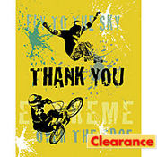 Xtreme Action Thank You Notes 8ct