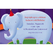 Circus Custom Invitation
