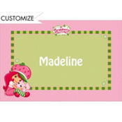 Strawberry Shortcake Custom Thank You Note