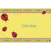 Lady Bug Custom Thank You Note