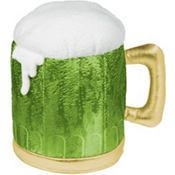 Frothy Green Beer Hat 10in