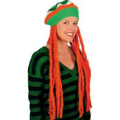 Irish Tam with Dreadlock Wig
