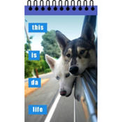 This Is Da Life Loldogs Notepad