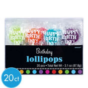 Party On Lollipops 20ct