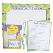 Think Like Mom! Baby Shower Game