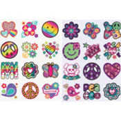 Neon Groovy Body Art Value Pack 24pc