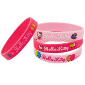 Hello Kitty Wristbands 4ct