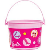 Barbie Favor Container 4in