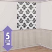 Damask Print Photo Backdrop 60in