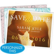 Save the Date Printable Magnet Kit 30ct