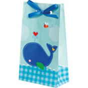 Ahoy Baby Boy Baby Shower Favor Bags 12ct