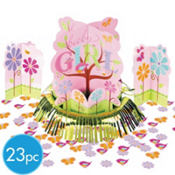 Tweet Baby Girl Baby Shower Centerpiece Kit 4pc