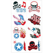 Party Rock Tattoos 16ct