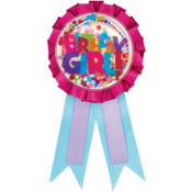 Girl Birthday Award Ribbon