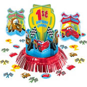 Cars 1st Birthday Centerpiece Kit 23pc