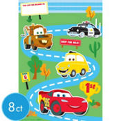 Cars 1st Birthday Favor Bags 8ct