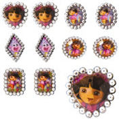 Dora the Explorer Jewel Rings 48ct