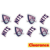 New Jersey Nets Face Tattoos 8ct