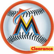 Miami Marlins Lunch Plates 18ct