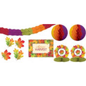 Festive Fall Room Decorating Kit 10pc