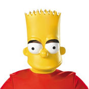 Child Plastic Bart Simpson Mask